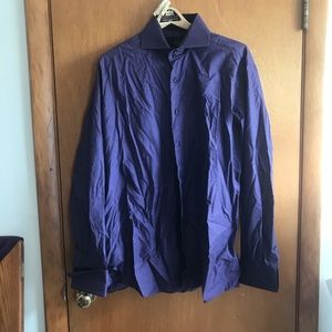 Diamond Purple Dress shirt